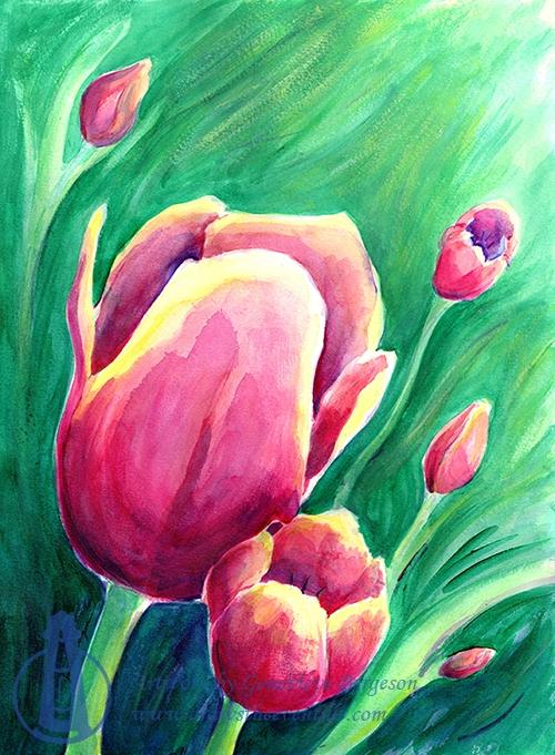 Tulip Variations 4 (2020)